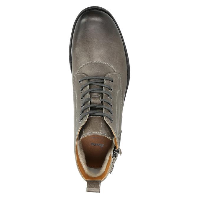 Členková pánska Ombré obuv bata, šedá, 896-2684 - 26