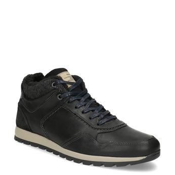Pánske zimné tenisky bata, čierna, 846-6646 - 13