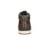 Kožené členkové tenisky bata, hnedá, 846-4644 - 16