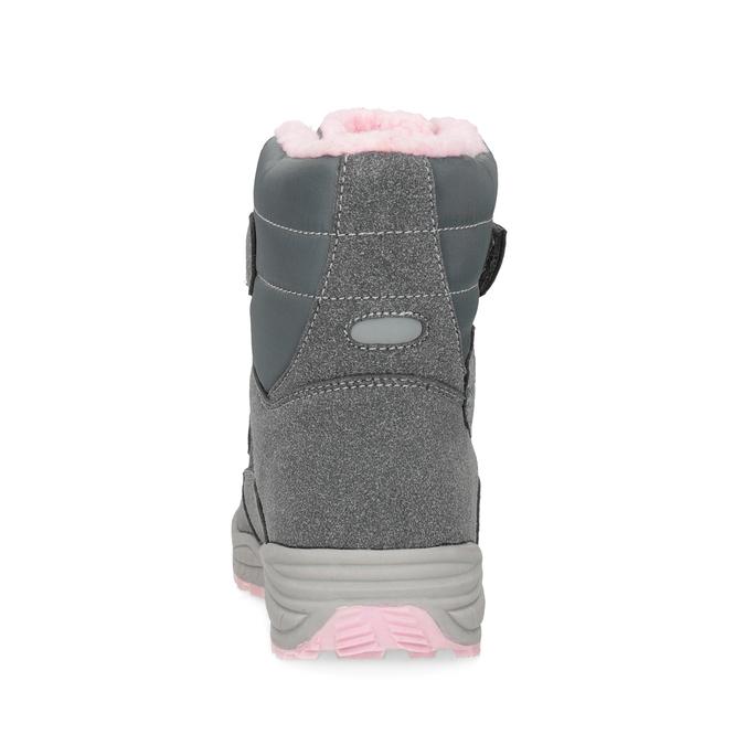 Dievčenské snehule s kožúškom mini-b, šedá, 291-2625 - 15