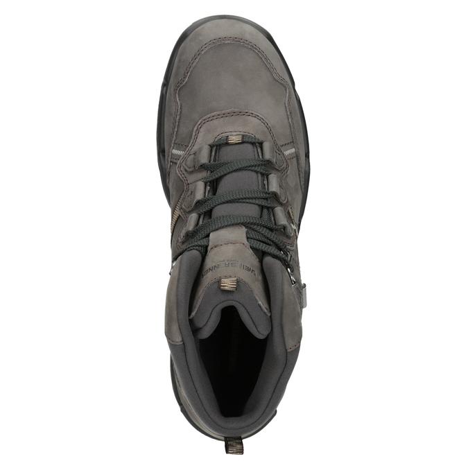 Kožená obuv v Outdoor štýle weinbrenner, šedá, 896-2671 - 15