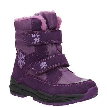 Dievčenské fialové snehule mini-b, fialová, 291-9625 - 13