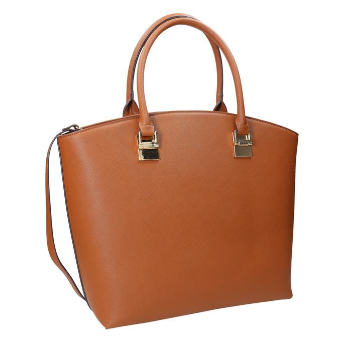 Hnedá dámská kabelka bata, hnedá, 961-3821 - 13