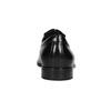 Kožené Oxford poltopánky so štruktúrou conhpol, čierna, 824-6989 - 16
