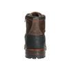 Kožená pánska obuv s masívnou podrážkou bata, hnedá, 896-4665 - 17