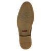Pánska členková obuv s prešívaním bata, hnedá, 826-4920 - 17