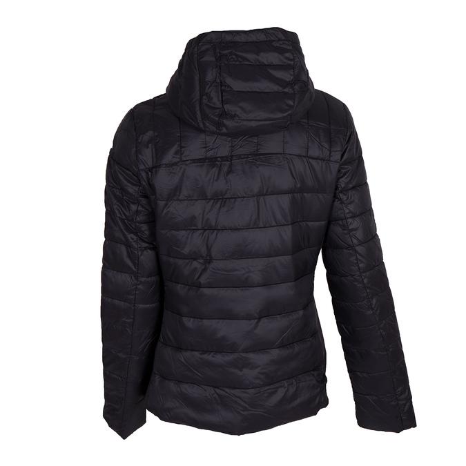 Dámska bunda s kapucou bata, čierna, 979-6159 - 26