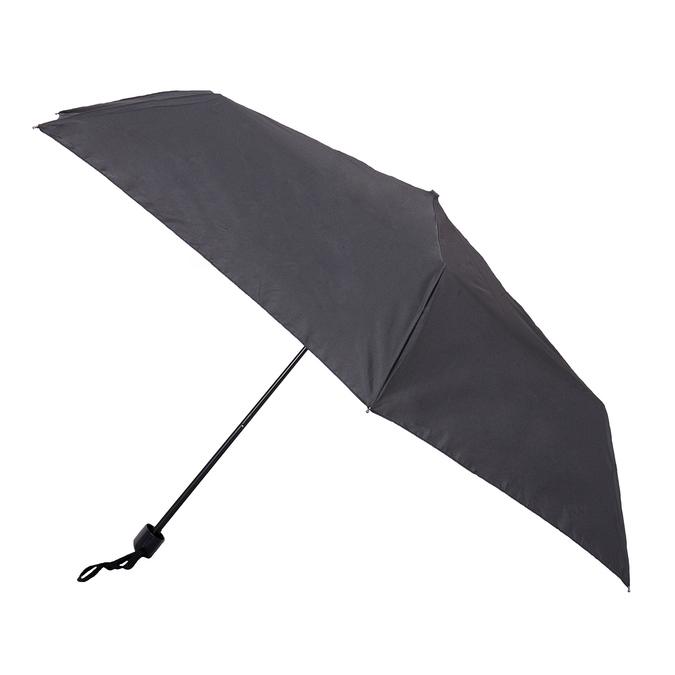 Čierny skladací dáždnik doppler, čierna, 909-6659 - 13
