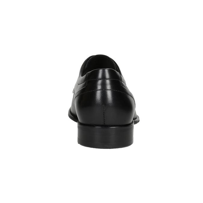 Kožené pánske Derby poltopánky conhpol, čierna, 824-6992 - 16