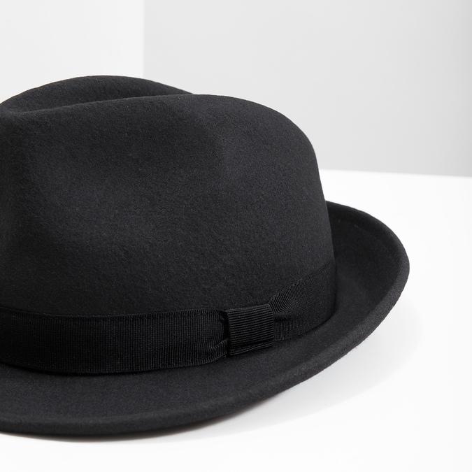 Čierny klobúk bata, čierna, 909-6674 - 14