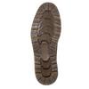 Pánska členková zimná obuv bata, hnedá, 896-4657 - 19