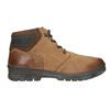 Pánska zimná kožená obuv bata, hnedá, 896-3681 - 26