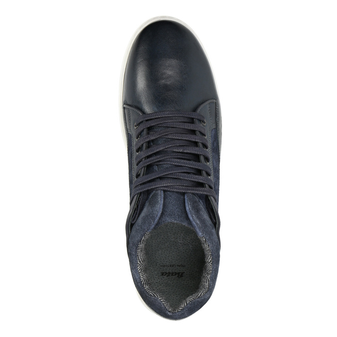 Pánske kožené tenisky bata, 846-6643 - 15