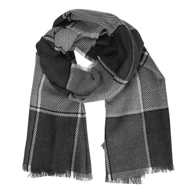 Pánsky šedý šál bata, šedá, 909-2632 - 13