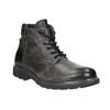 Kožená pánska zimná obuv bata, šedá, 896-2682 - 13