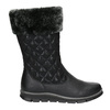 Dievčenská zimná obuv mini-b, čierna, 391-6656 - 26