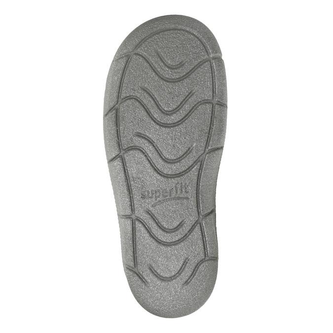 Detská členková obuv superfit, biela, 126-1037 - 17