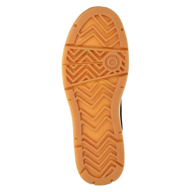 Kožená členková pánska obuv k1x, čierna, 806-6552 - 17