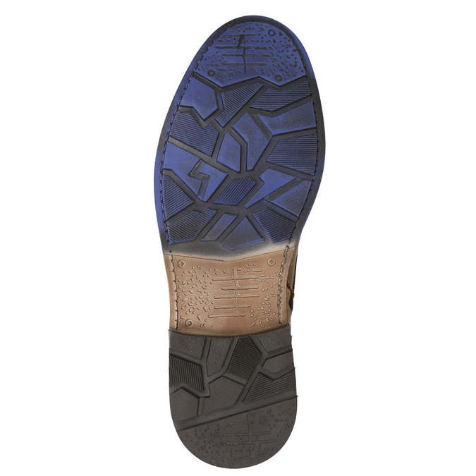 Členková kožená obuv bata, hnedá, 896-3680 - 19