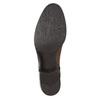 Dámské kožené čižmy s prackou bata, hnedá, 594-3427 - 19