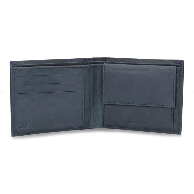 Kožená pánska peňaženka bata, modrá, 944-9188 - 15