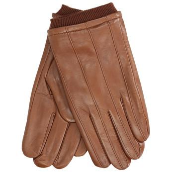 Kožené rukavice hnedé bata, hnedá, 904-3117 - 13