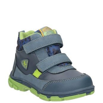 Detská členková obuv bubblegummers, modrá, 111-9623 - 13