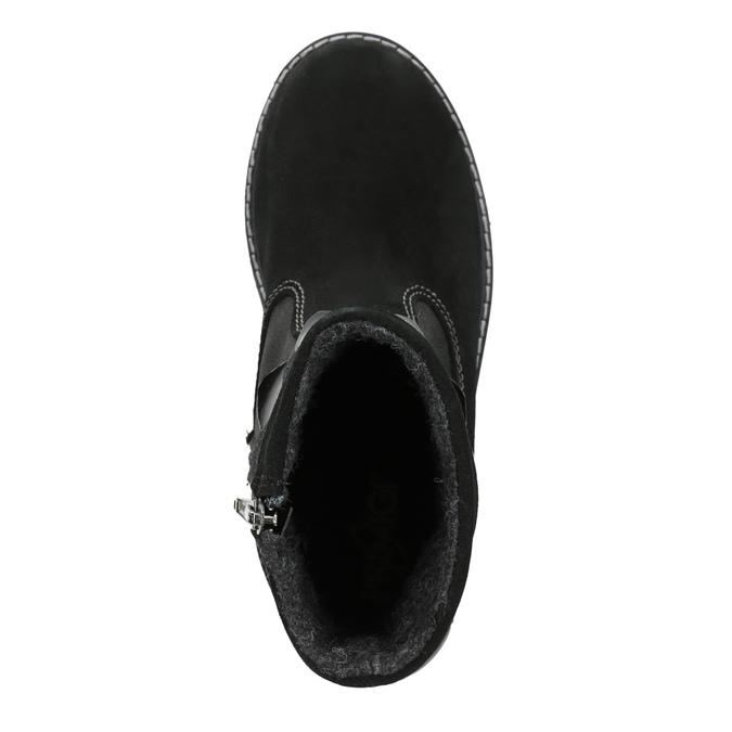 Detská zimná obuv primigi, čierna, 423-6005 - 17