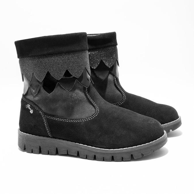 Detská zimná obuv primigi, čierna, 423-6005 - 26