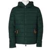 Zelená pánska bunda s kapucou bata, zelená, 979-7130 - 13