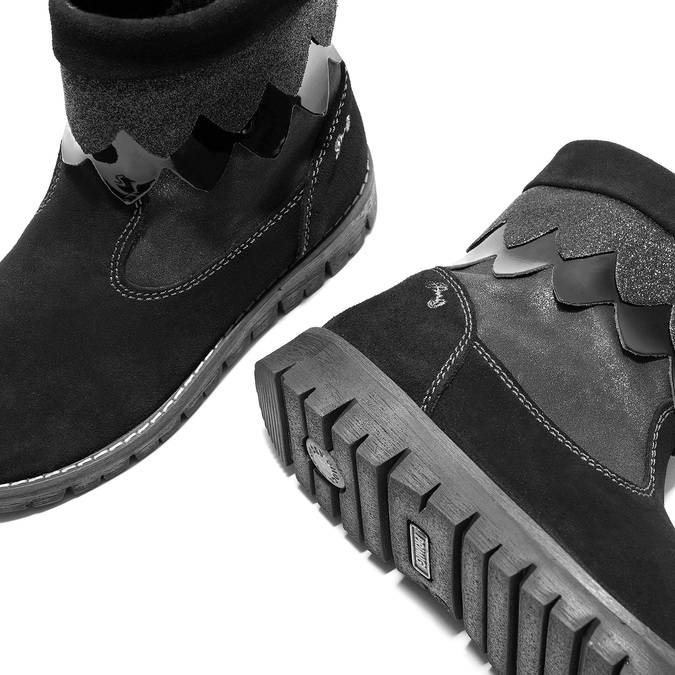 Detská zimná obuv primigi, čierna, 423-6005 - 14
