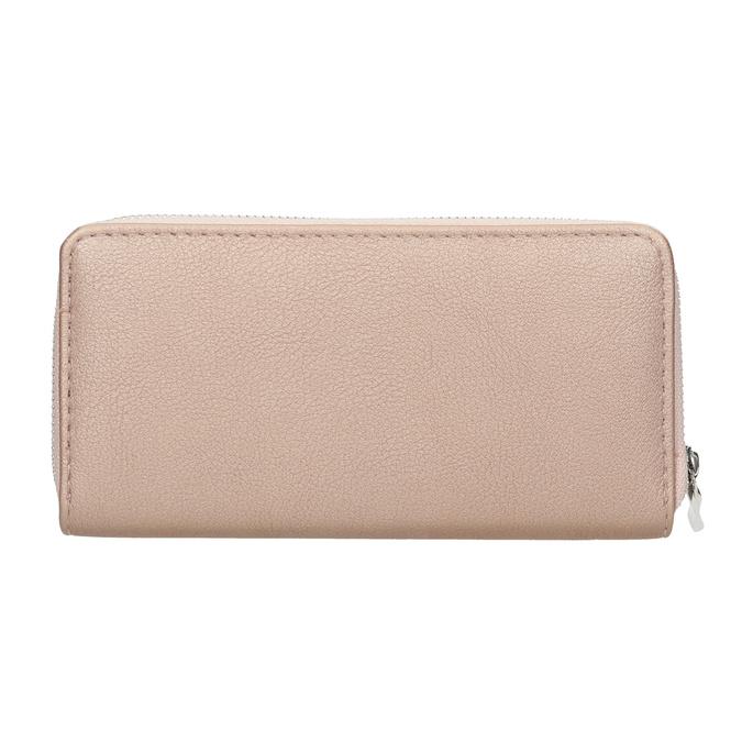 Dámska ružová peňaženka bata, ružová, 941-5155 - 16