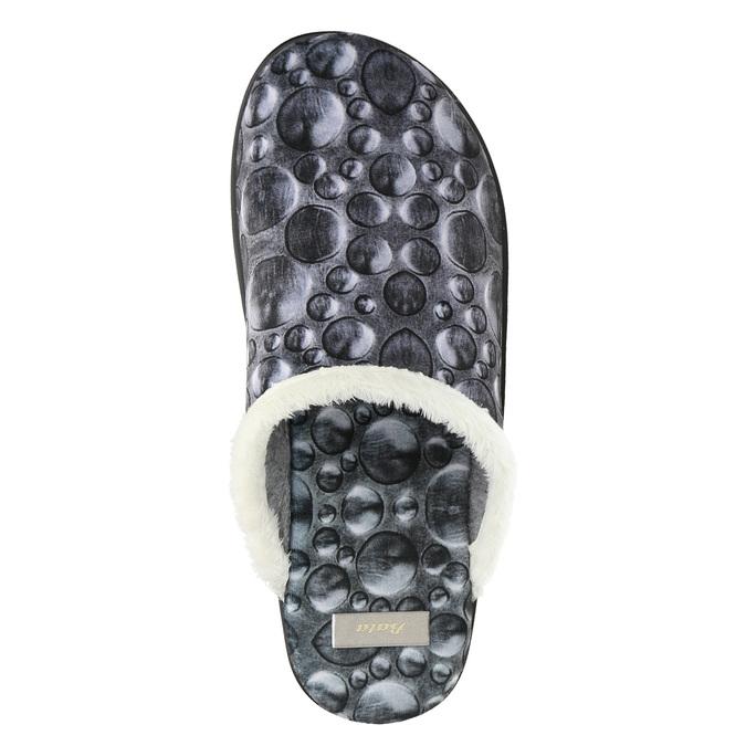 Dámska domáca obuv šedá bata, šedá, 579-2622 - 26