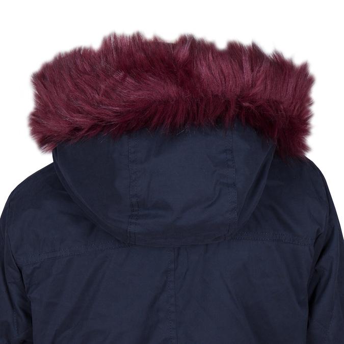 Dámská bunda s vymeniteľným kožúškom bata, modrá, 979-9131 - 15