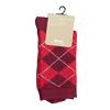 Dámske ponožky s anglickým vzorom bata, červená, 919-5301 - 13