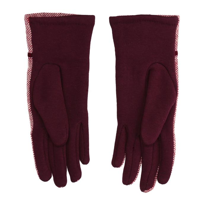 Dámske rukavice s bambuľkou bata, červená, 909-5614 - 16
