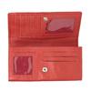 Dámska červená peňaženka z kože bata, červená, 944-3203 - 15