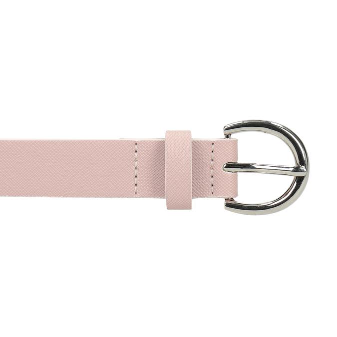 Ružový dámsky opasok bata, ružová, 951-9604 - 26