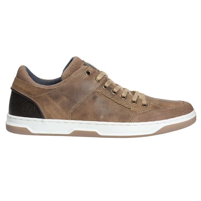 Kožené pánske tenisky bata, 846-8927 - 26