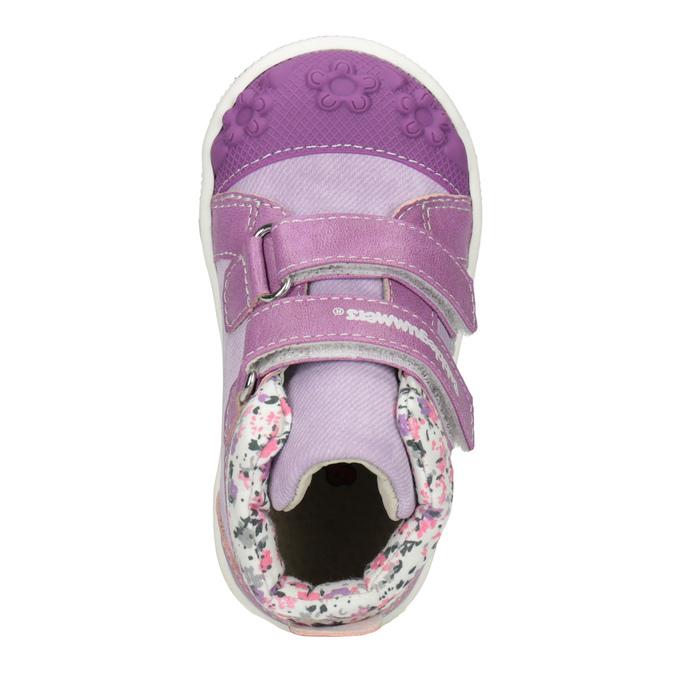 Členkové detské tenisky so vzorom bubblegummers, fialová, 121-9618 - 15