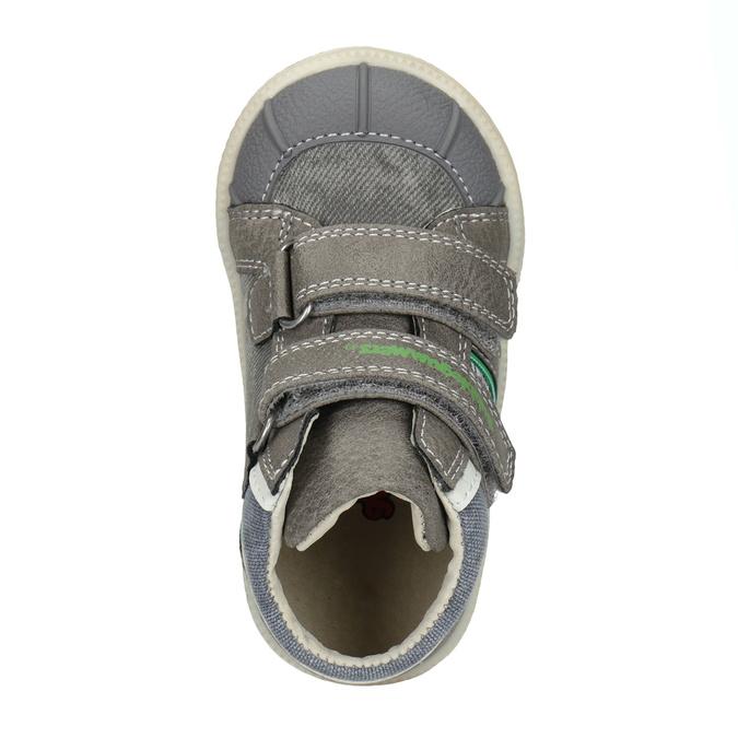 Členková detská obuv bubblegummers, šedá, 111-2614 - 15