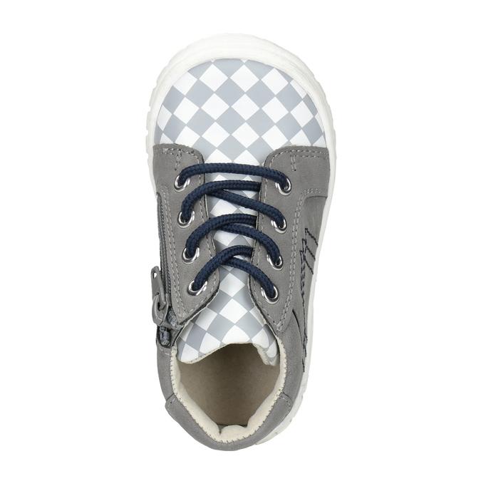 Detská členková obuv bubblegummers, šedá, 111-2626 - 15
