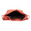 Dámska kabelka v Hobo štýle bata, červená, 961-5843 - 15