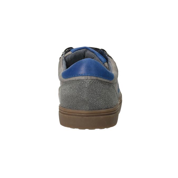Detské ležérne tenisky s potlačou mini-b, šedá, 411-2608 - 16