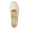 Dámske baleríny s koženým remienkom bata, 526-8651 - 15