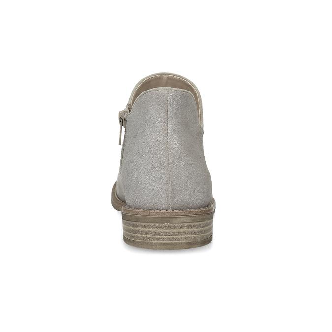 Členkové dámske čižmy bata, šedá, 596-2685 - 15