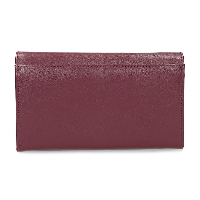 Kožená dámska peňaženka bata, červená, 944-5205 - 16