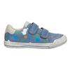 Modré tenisky s potlačou mini-b, modrá, 211-9218 - 26
