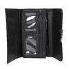 Dámska peňaženka s prešitím bata, čierna, 941-6169 - 15