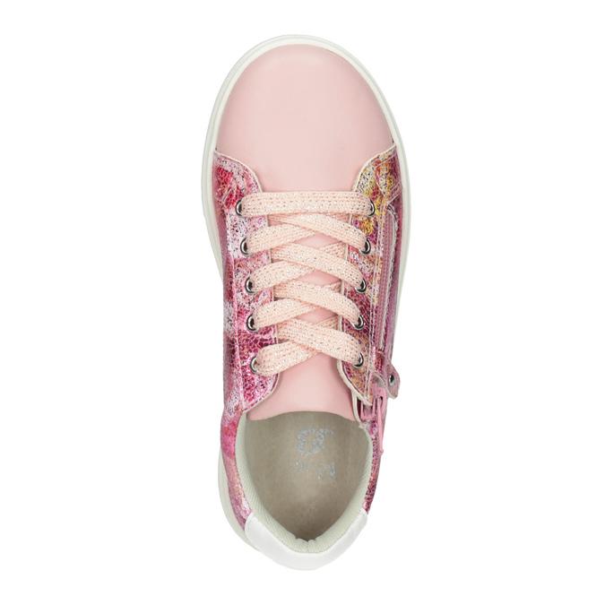 Dievčenské ružové tenisky so zipsom mini-b, 321-5219 - 15